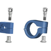 Clamp and central clamp